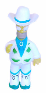 The Simpsons 20th Anniversary Variant Figure Colonel Homer