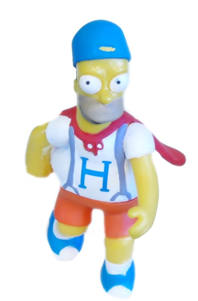 The Simpsons 20th Anniversary Variant Figure Dancing Homer