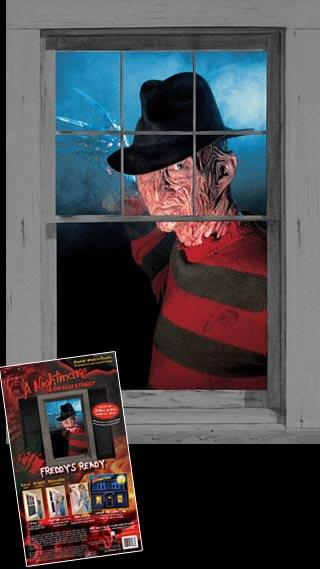Nightmare On Elm Street Freddys Ready 3' x 5' Window Sticker