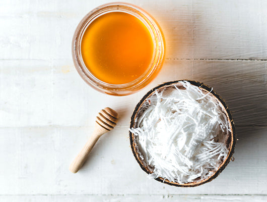 Honey & Coconut DIY Hair Mask