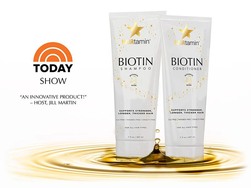 today show biotin shampoo and conditioner set