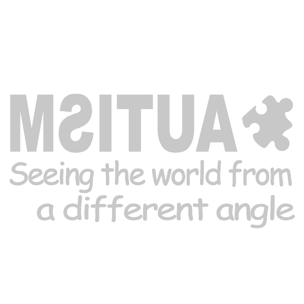 AUTISM Seeing The World.. V1 Single Color Transfer Type Decal