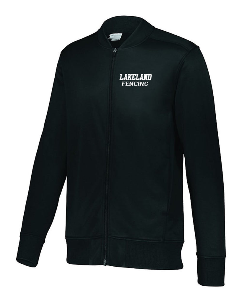Lakeland Fencing Augusta Sportswear - Trainer Jacket - 5571 w/ White Left Chest Design