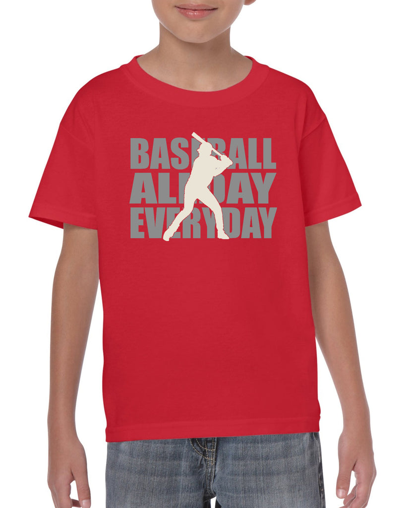 Baseball All Day Everyday Graphic Transfer Design Shirt