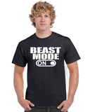 Beast Mode On Graphic Transfer Design Shirt