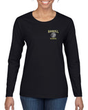 HASKELL School Heavy Cotton Black Long Sleeve Tee w/ Small Left Chest HASKELL School