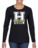 HASKELL School Heavy Cotton Black Long Sleeve Tee w/ HASKELL School