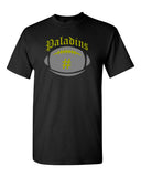 Paramus Catholic Black Tee w/ Large Front 2 Color Design