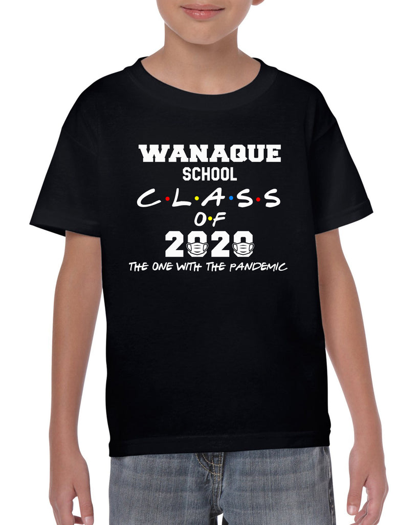 Wanaque School CLASS OF 2020 Pandemic Funny Graphic Design Shirt
