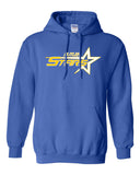 Butler Stars Royal Blue  Hoodie w/ Large Design on Front.
