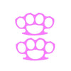 Brass Knuckles Street Fighter (2 pack) Single Color Transfer Type Decal
