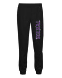 Twisters Gymnastics Badger - Athletic Fleece Joggers - 2215 w/ Twisters 2 Color Spangle Design