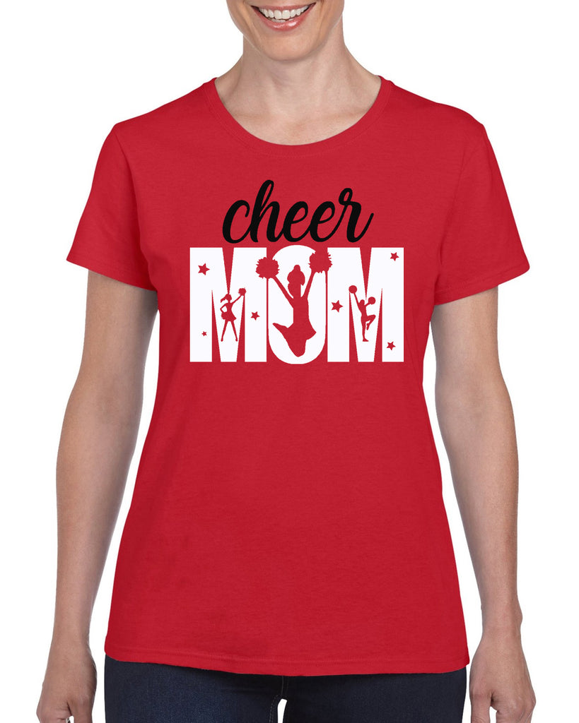 Cheer Mom 11918 Graphic Transfer Design Shirt