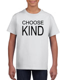 Choose Kind Graphic Transfer Design Shirt