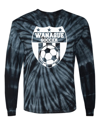 Wanaque Soccer Heavy Cotton Long Sleeve T-Shirt with Large Front Logo