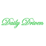 Daily Driven V1 Single Color Transfer Type Decal