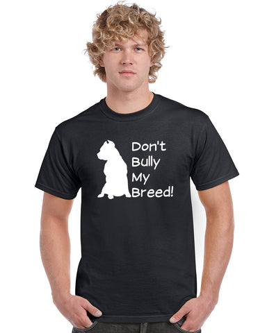 Don't Bully My Breed V1 Graphic Transfer Design Shirt