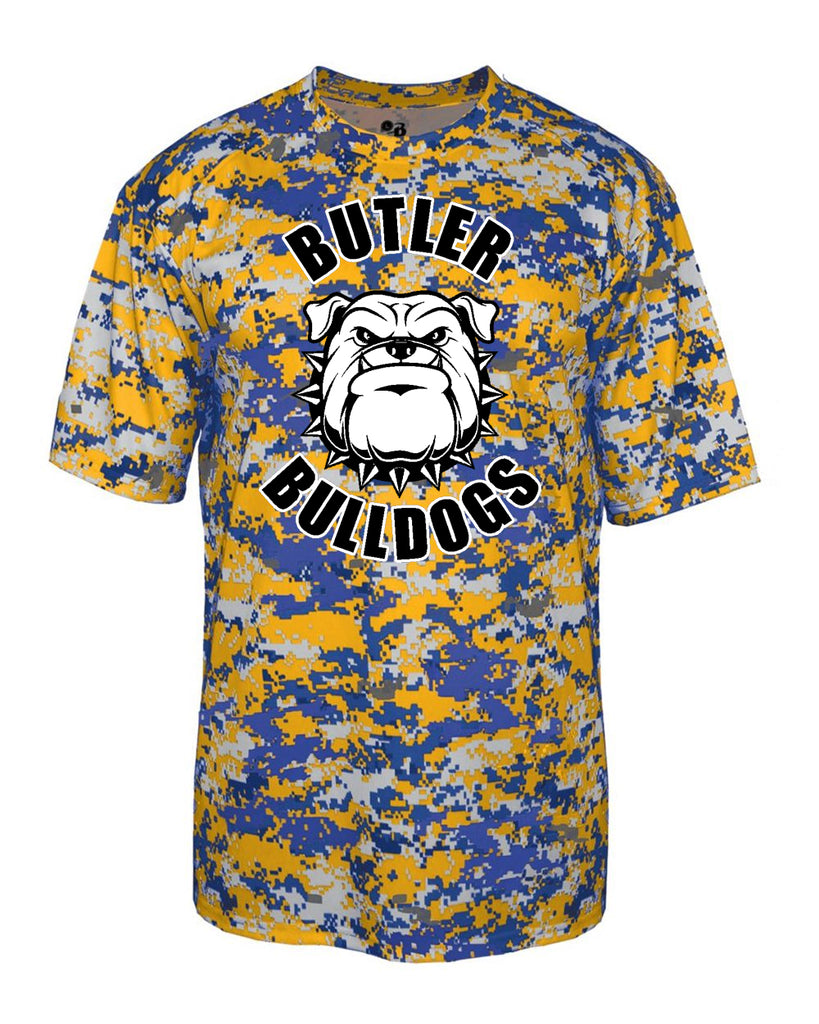 Butler Bulldogs Digital Camo T-Shirt - 4180 w/ Butler Bulldogs Dawg Design