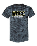 WMCC Crystal Tie Dye T-Shirt - 200CR w/ WMCC 3 color Logo on Front.