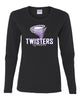 Twisters Gymnastics 100% Cotton Long Sleeve Tee w/ F5 Twister 2 Color Design