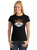 Football Mom V2 Graphic Transfer Design Shirt