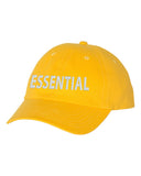 ESSENTIAL Unstructured Baseball Style Cap