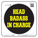 HEAD BADASS IN CHARGE V1 Black/Yellow 2