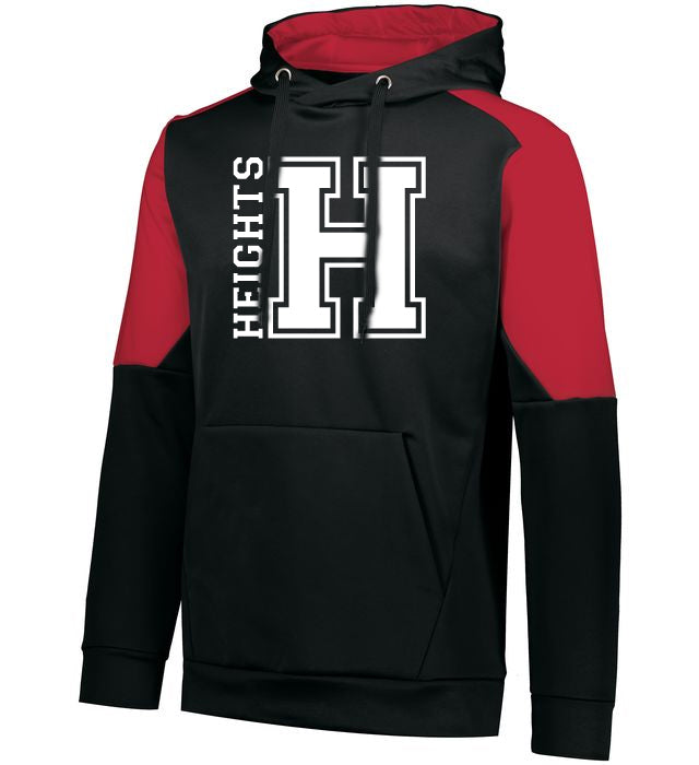 Oakland Heights HW Blue Chip Hoodie w/ Heights OG Design on Front.