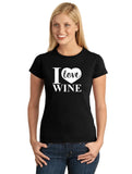 I Love Wine V1 Graphic Transfer Design