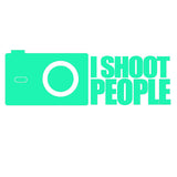 I Shoot People Photographer V1 Single Color Transfer Type Decal