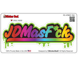 JDM AS FCK 504 Full Color Printed Vinyl Decal Window Sticker