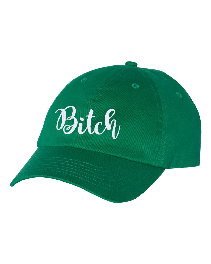 BITCH Unstructured Baseball Style Cap