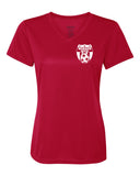 Wanaque Soccer Performance Ladies V-Neck T-Shirt with Small Left Chest Logo