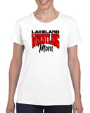 Lakeland Wrestling Heavy Blend Shirt w/ Lakeland Wrestling Mom logo on Front.