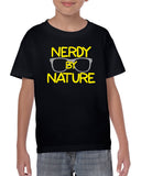 Nerdy by Nature Graphic Design Shirt
