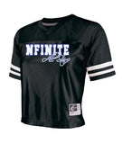 NFINITE OC Chasse Black All in Jersey w/ NFINITE All Stars Logo on Front.