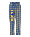 Butler Bulldogs PJ Style Flannel Pants w/ BULLDOGS down right leg.