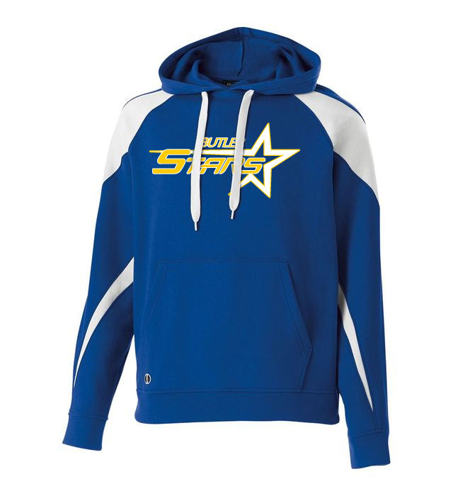 Butler Stars Blue/White Prospect Hoodie w/ Large Design on Front.