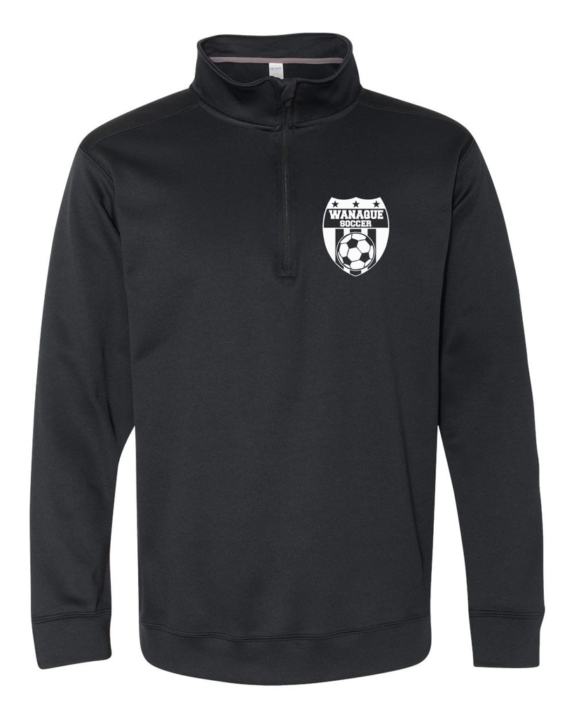Wanaque Soccer Performance® Tech Quarter-Zip Pullover Sweatshirt with Small Left Chest Logo