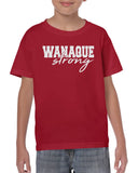 Wanaque Strong Graphic Design Shirt