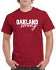 Oakland Strong Graphic Design Shirt