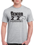 SENIOR 2020 TP Quarantined Funny Graphic Design Shirt