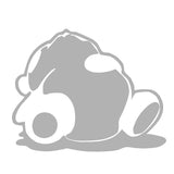Sleeping Panda JDM Tuner V1 Single Color Transfer Type Decal