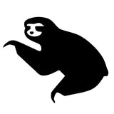 SLOTH Cute Animal Single Color Transfer Type Decal