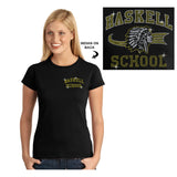 HASKELL School Black Short Sleeve Tee w/ HASKELL School
