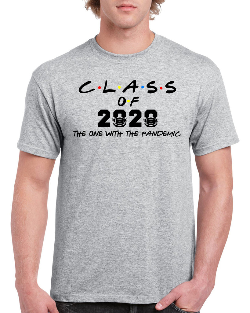 CLASS OF 2020 Pandemic Funny Graphic Design Shirt