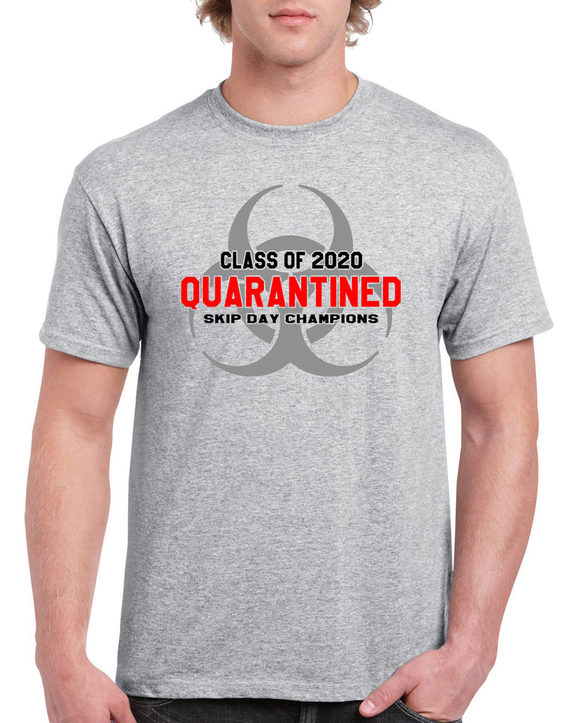 Class of 2020 Quarantined Funny Graphic Design Shirt