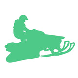 Snowmobile Jumper V1 Single Color Transfer Type Decal