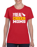 The Real Cheer Moms V1 Graphic Transfer Design Shirt