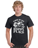 This is My Happy Place Motorcycle V1 Graphic Transfer Design